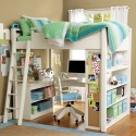 Amazing Loft Beds for Girls  , 15 Teen Loft Beds Ideas In Bedroom Category