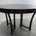 Black-Expandable-Round-Dining-Table , 13 Expandable Round Dining Table Idea In Furniture Category