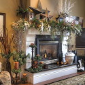 Furniture , 12 Christmas Mantel Decorating Ideas Pictures : Christmas-Mantel-Fireplace-Decorating-Ideas