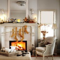 Furniture , 12 Christmas Mantel Decorating Ideas Pictures : Cool-Mantel-Decorating-Ideas