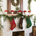 Cute-Christmas-Mantel-Decorating , 8 Inspiring Christmas Mantel Decoration Ideas In Furniture Category