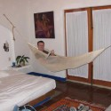 Furniture , Hanging Chairs For Bedrooms Ideas : Hammock-Hanging-Chair-for-Bedroom