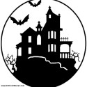 Haunted-House-Pumpkin-Carving-Patterns , 7 Halloween Pumpkin Carving Patterns Idea In Furniture Category