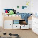 Loft-Teen-Bed-in-Maple-White , 15 Teen Loft Beds Ideas In Bedroom Category