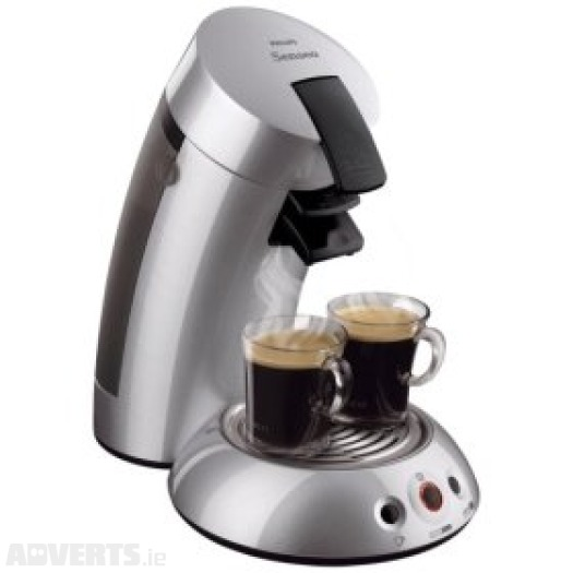Kitchen Appliances , 12 Examples Senseo Coffee Maker :  Silver Senseo Coffee Maker