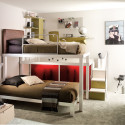 Teen-Bedroom-with-Bunk-Beds , 15 Teen Loft Beds Ideas In Bedroom Category