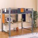 Teen Trends Full Loft Study Bunk Bed , 15 Teen Loft Beds Ideas In Bedroom Category