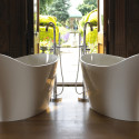 Bathroom , 17 Awesome Victoria And Albert Tubs Idea : Victoria and Albert twin bathtub