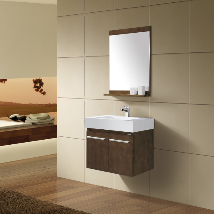Bathroom , Floating Bathroom Vanities Ideas : Wall Mounted Bathroom Vanity Cabinet