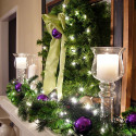 Whole-Bunch-Of-Christmas-Mantel-Decorating , 8 Inspiring Christmas Mantel Decoration Ideas In Furniture Category