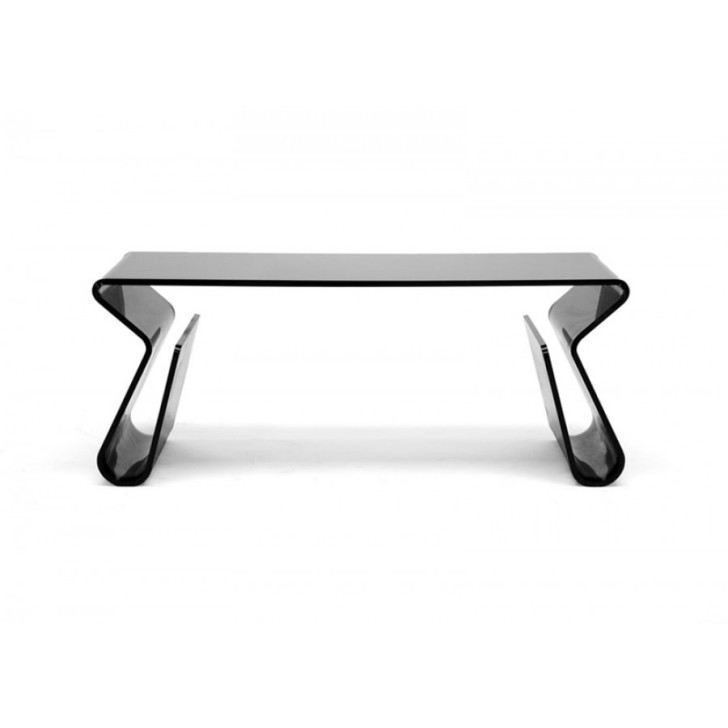 Furniture , Popular Acrylic Coffee Table Picture : acrylic coffee table side view