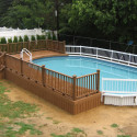 awesome-above-ground-pool-decks , Above Ground Pool Deck Ideas In Furniture Category