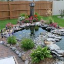 backyard-fishpond-design-ideas , 6 Backyard Pond Ideas In Furniture Category