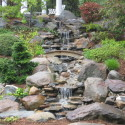 backyard pondless waterfalls , 11 Awesome Backyard Waterfalls Ideas In Apartment Category
