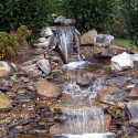 backyard waterfalls and ponds , 11 Awesome Backyard Waterfalls Ideas In Apartment Category