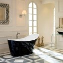 black and gorgeous from Victoria and Albert Baths , 17 Awesome Victoria And Albert Tubs Idea In Bathroom Category