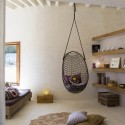 Furniture , Hanging Chairs For Bedrooms Ideas : black-hanging-chairs-for-bedrooms