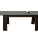 black square expandable dining table , Expandable Dining Table Idea In Kitchen Category