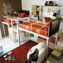 cool bunk bed and loft design for kids and teens , 15 Teen Loft Beds Ideas In Bedroom Category