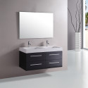 Bathroom , Floating Bathroom Vanities Ideas : floating bathroom vanity with double cabinet