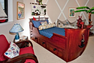 800x640px 8 Cool Pirate Kids Bedroom Theme Idea Picture in Bedroom