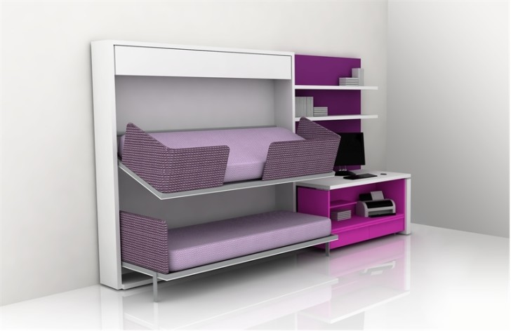Bedroom , 15 Teen Loft Beds Ideas : modern teens loft beds design