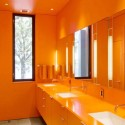 orange-bathroom-interior , Orange Small Bathroom Design In Bathroom Category