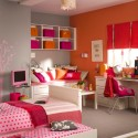 orange teenage girls bedroom ideas , 14 Cool Teenage Girl Bedroom Ideas In Bedroom Category