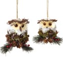 pine-cone-holly-owl-rustic-christmas-ornament , 10 Pinecone Ornaments Ideas In Lightning Category