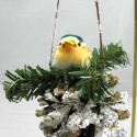 pine-cone-with-bird-christmas-ornament , 10 Pinecone Ornaments Ideas In Lightning Category