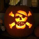 pumpkin-skull-jack-o-lantern , Jack O Lantern Patterns Ideas In Lightning Category