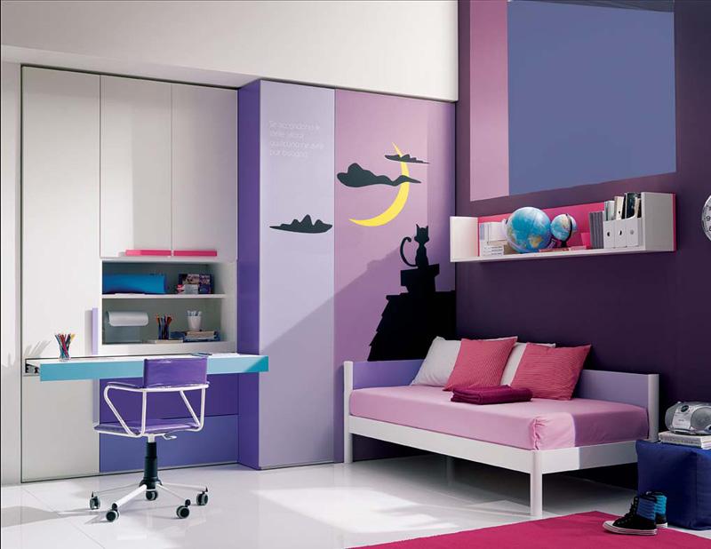 800x618px 14 Cool Teenage Girl Bedroom Ideas Picture in Bedroom