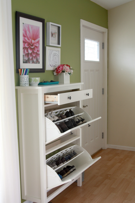 Furniture , Shoe Organizer Ikea : shoe organizer ikea side look