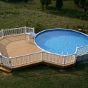 small-above-ground-pool-deck-ideas , Above Ground Pool Deck Ideas In Furniture Category