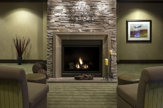 640x603px 8 Stacked Stone Fireplace Ideas Picture in Living Room