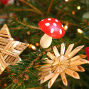 swedish-christmas-tree-decorations-with-mushroom , 8 Swedish Christmas Decorations Ideas In Furniture Category