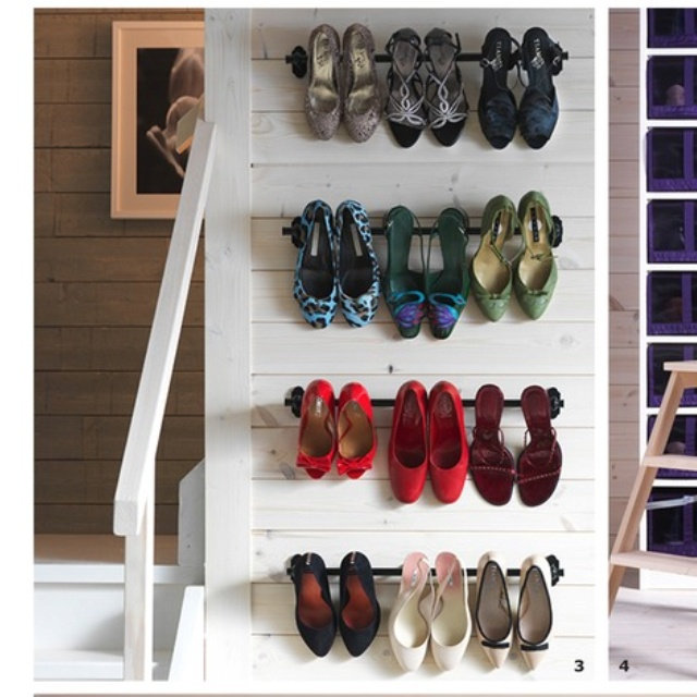 Wall Shoe Rack Part - 20: Furniture , 9 Popular Ikea Shoe Rack : Wall Mounted Shoe Rack