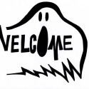 welcome-ghost-pumpkin-pattern , 7 Halloween Pumpkin Carving Patterns Idea In Furniture Category