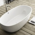 Bathroom , 17 Awesome Victoria And Albert Tubs Idea : white-Victoria-and-Albert-bathtubs