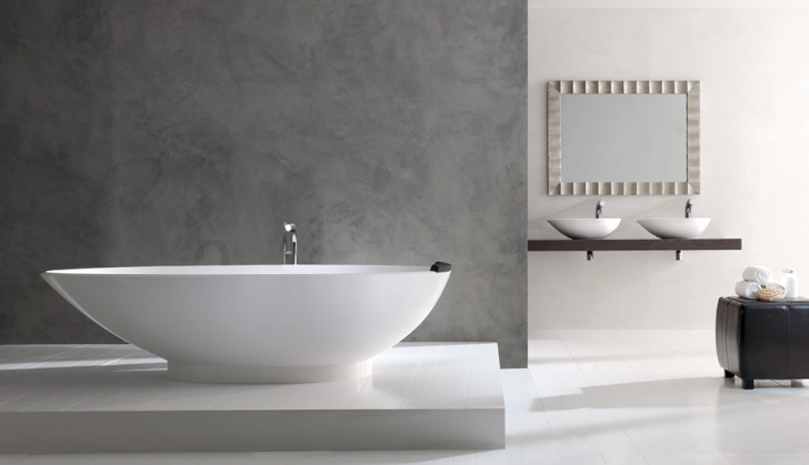 Bathroom , 17 Awesome Victoria And Albert Tubs Idea : White Luxury Bathtubs