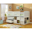 white teen loft beds , 15 Teen Loft Beds Ideas In Bedroom Category
