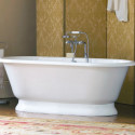 Bathroom , 17 Awesome Victoria And Albert Tubs Idea : white-traditional-bathtubs