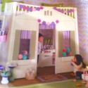 Pottery Barn Kids cottage loft bed. So cute!   Dream Room for Brylee , Pottery Barn Cottage Loft Bed In Bedroom Category