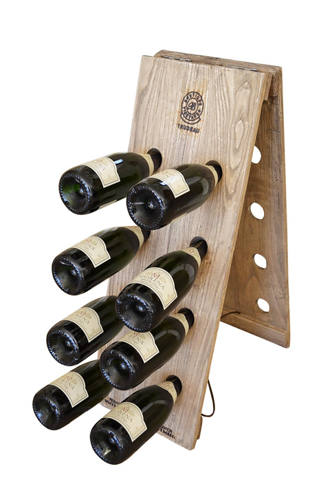 Furniture , 7 Riddling Rack Design Idea :  Champagne Riddling Rack