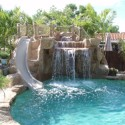 Custom Swimming Pool Waterfalls , 5 Inground Pool Waterfalls Idea In Apartment Category
