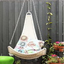 IKEA-Hanging-Chair-With-Wood-Fence , 5 Popular Hanging Chair Ikea In Furniture Category