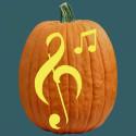Making Music Pumpkin Carving Patterns , 10 Cool Pumpkin Stencils Photos In Lightning Category