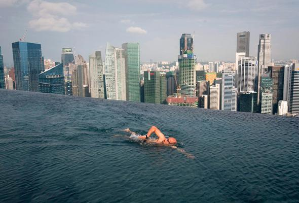 Apartment , Marina Bay Sands Infinity Pool – Awesome! : Marina Bay Sands Infinity Pool Singapore