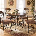 Nola Round Table Dinette Set , Dinette Sets For Small Spaces In Kitchen Category