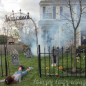 Outdoor Halloween Decoration Ideas , 14 Halloween Front Yard Decoration Ideas In Furniture Category